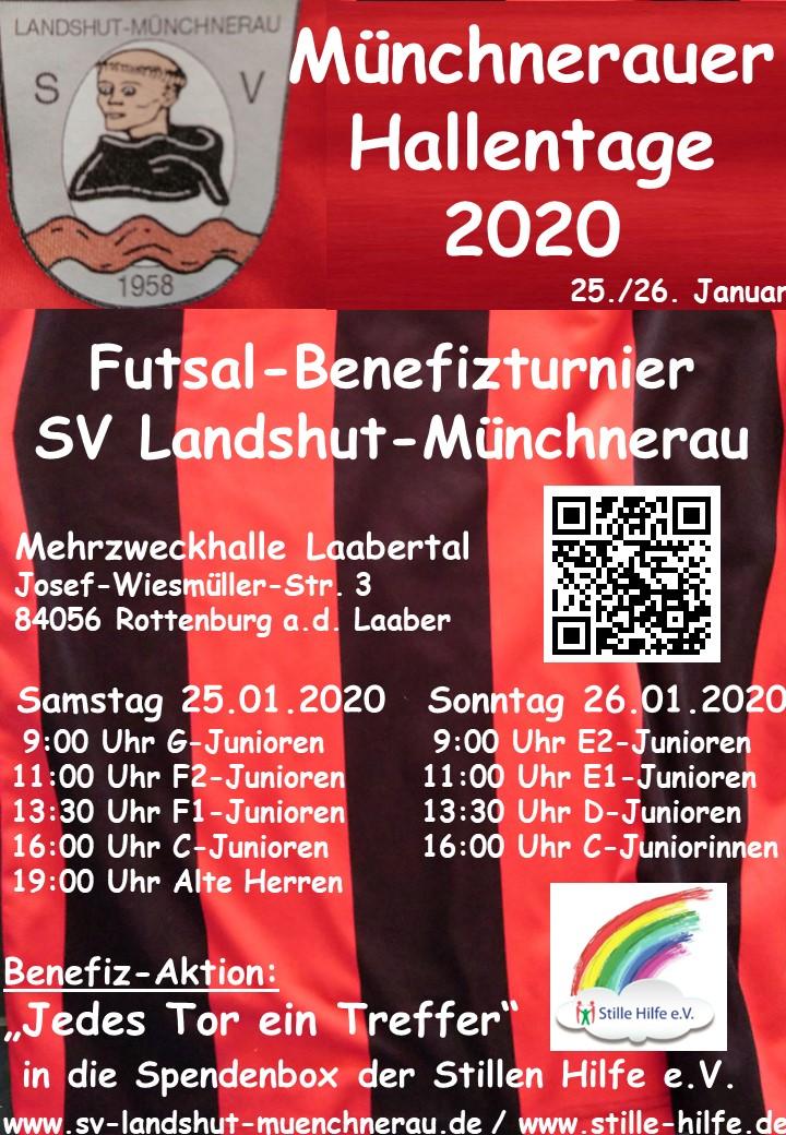 Münchnerauer Hallentage 2020